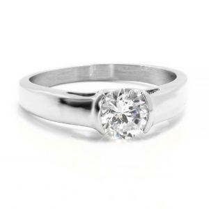 BRUNOshop.cz S2656 Krásný prsten s kamínkem Velikost: 10