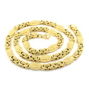 BRUNOshop.cz S1972 Pánský náhrdelník GOLD 55/0
